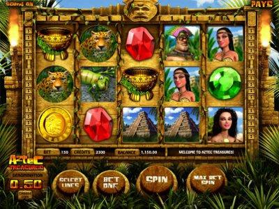 aztec treasure spielen