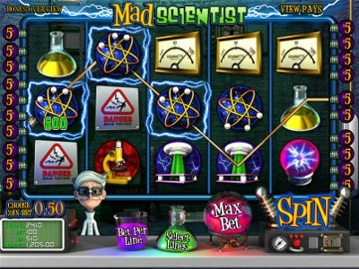 Mad Scientist Slot Machine - Play for Free Instantly Online