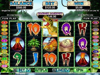 t-rex free slot game - 3